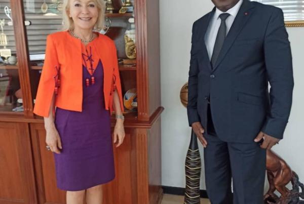 Rencontre avec le Ministre des Sports Ivorien